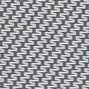 Tissus Occultant BLACKOUT 100% Satiné 21154 0102 Gris Blanc
