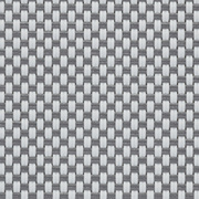 Tissus Transparent EXTERNAL SCREEN CLASSIC Natté 4503 0201 Blanc Gris