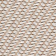 Tissus Transparent EXTERNAL SCREEN CLASSIC Satiné 5500 1002 Sable Blanc