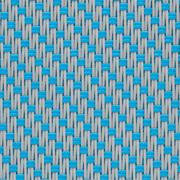 Tissus Transparent EXTERNAL SCREEN CLASSIC Satiné 5500 0703 Perle Turquoise